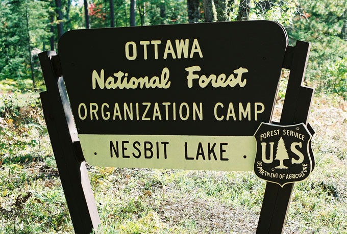 U.S. Forest Service officials were concerned about the safety of a ropes course used by elementary, middle, and high school students at Camp Nesbit in Michigan's Ottowa National Forest.