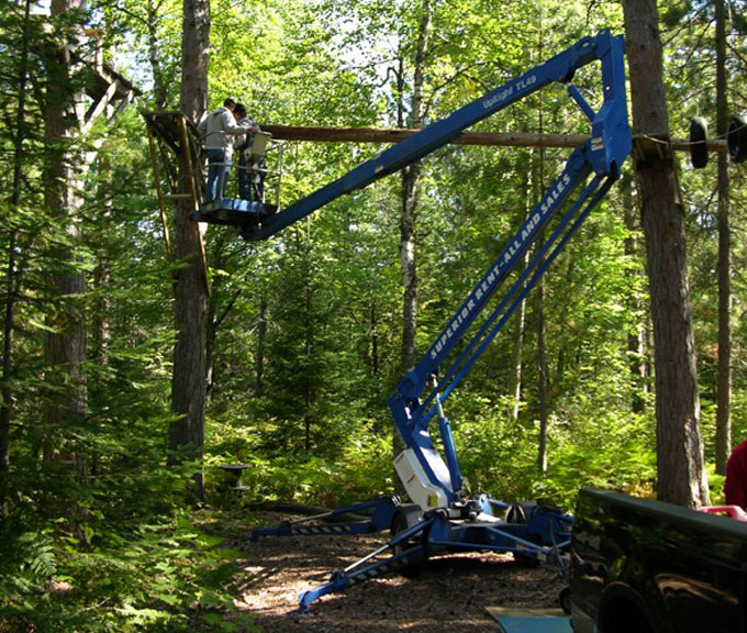 Initially, Allison and the team conducted single-path acoustic testing on the trees, measuring the speed of sound waves traveling through the tree at various heights. Slower speeds can indicate decay, cracks, or other imperfections in the tree.